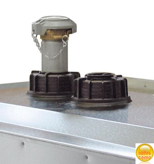 Saugrohr mit Tankwagenkupplung für 1000-l-Tank