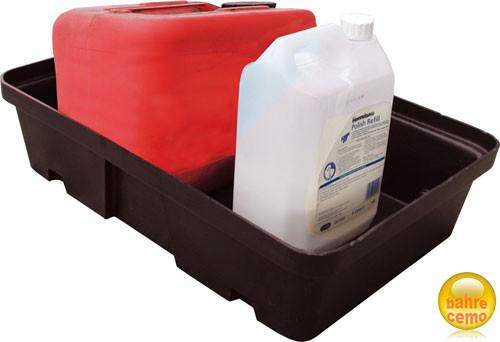 Beispiel PE-Auffangwanne 20 Liter ohne Rost