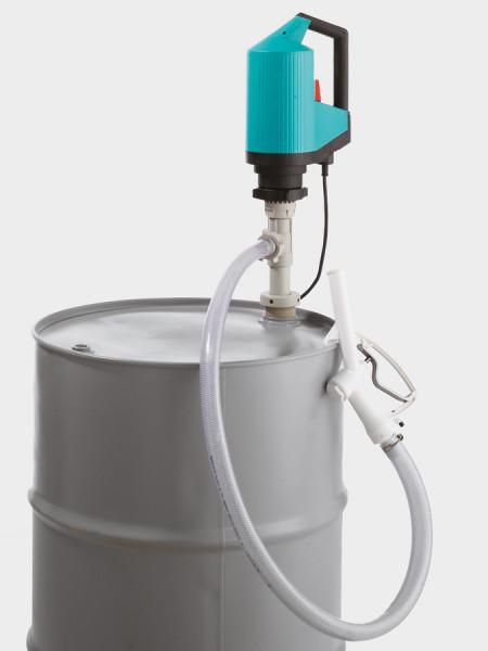 Cemo IBC-/Fasspumpe für Chemikalien, Allround-Set