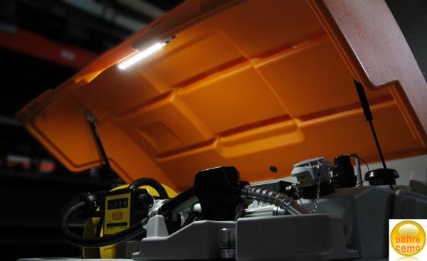 Beispiel: LED-Beleuchtung für CUBE-Tanks