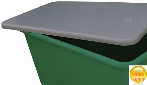 Flachdeckel für Rechteckbehälter 2200 Liter