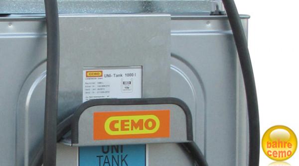 Schlauchhalter für Diesel-Tankanlage