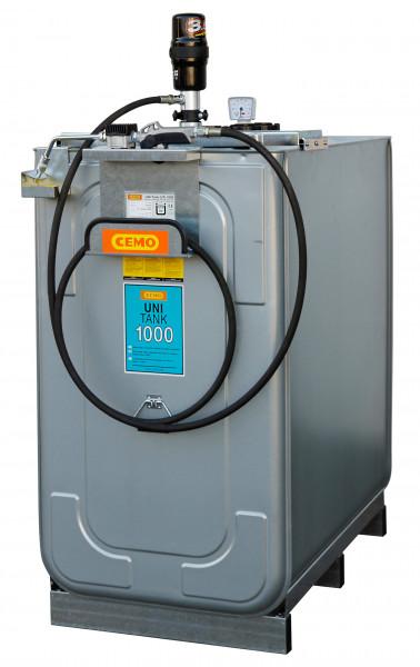 Beispiel Kompaktanlage UNI 1000 und Schlauchhalter