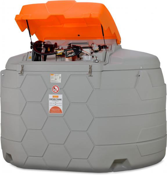 Dieseltankstation CUBE-Tank 5000 Liter Outdoor Premium Plus mit Tankdatenverwaltungssystem CMO10