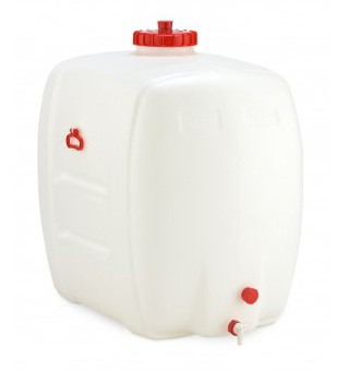 PE-Getränkefass 500 Liter Inhalt mit Hahn DN15