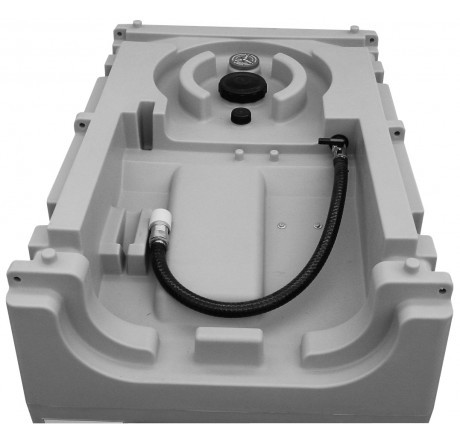 DT-Mobil Easy 600 l ohne Pumpe mit Schnellkupplung – Abbildung ähnlich