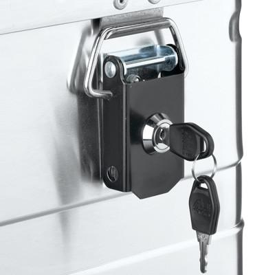 Zylinderschloss mit zwei Schlüsseln für Alutec-Boxen – 2er Set
