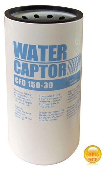 Filter mit Wasserabscheider max. 150 l/min.