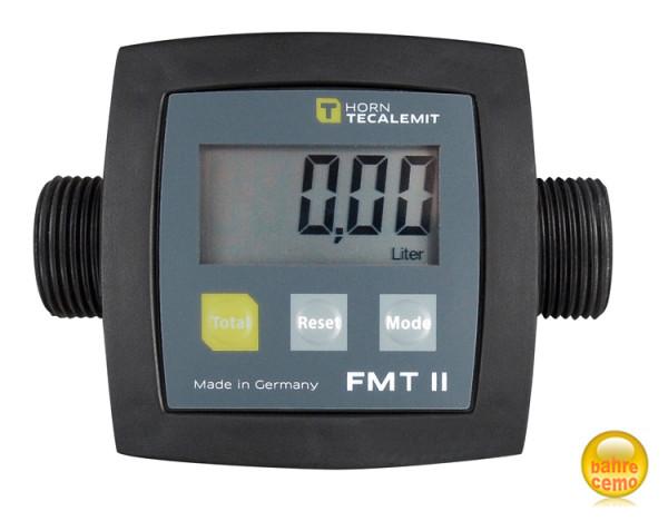 Digitaler Durchflusszähler FMT II für Fass- und IBC-Pumpen