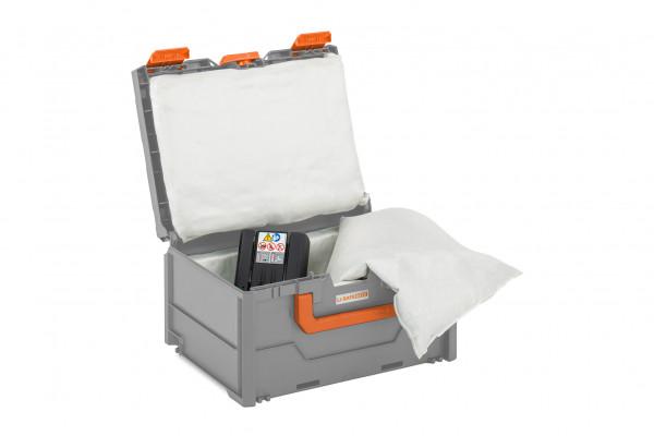 Akku-Systembrandschutzbox Li-SAFE 2-S – mit UN-Zulassung