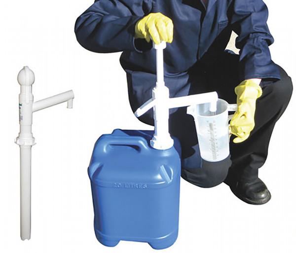 Cemo Handpumpe aus Kuststoff für Chemikalien