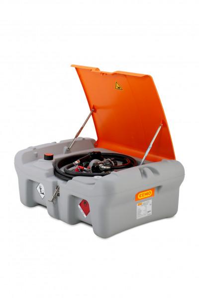 DT Mobil Easy Pick-up 210 L mit Elektropumpe 12 V, 40 l/min Automatik-Zapfsäule und Deckel (optional)