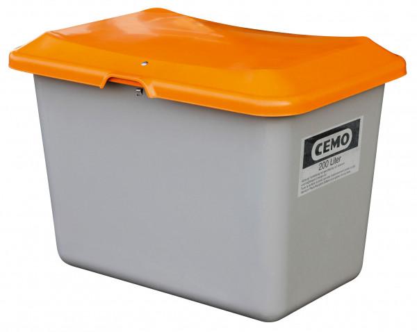Streugutbehälter Plus3, 200 Liter, ohne Entnahme-Öffnung und Staplertaschen