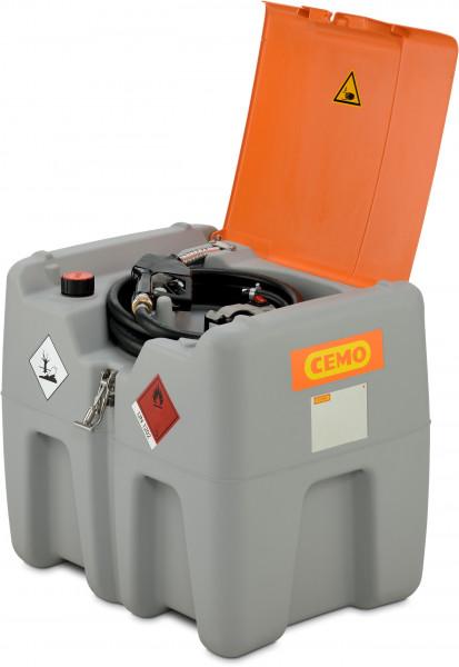 DT-Mobil Easy 210 Liter mit 12-Volt-Pumpe Akku und Ladegerät - Deckel im Lieferumfang enthalten