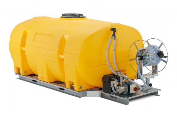 Mobiles Bewässerungssystem BWS 130-PE mit Elektropumpe MIT Schwallwände