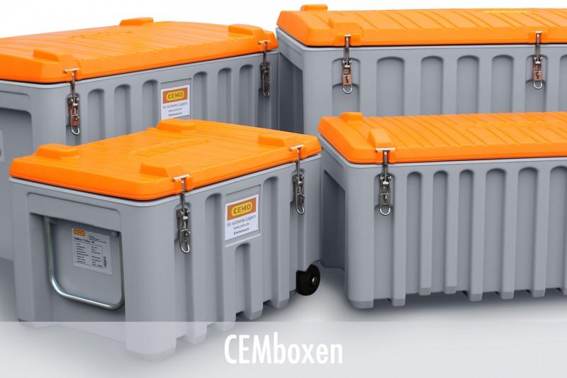CEMboxen als Werkzeug- und Lagerboxen
