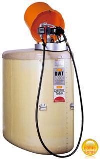 DWT-Dieseltankstationen