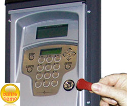 Elektronischer Schlüssel für Diesel-Zapfsäule 70 FM