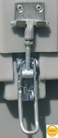 Fahrzeugbox Deckel abschließbar