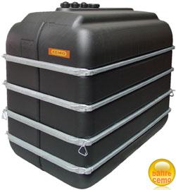 PE-Lagertank 5000 Liter